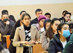 A SEMINAR WAS ORGANIZED WITH REPRESENTATIVES OF THE FACULTY OF FOREIGN LANGUAGES AND WORLD.UZ